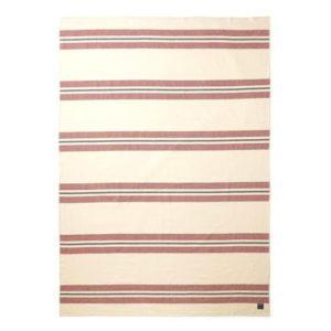 couverture à rayures couverture en laine mérinos