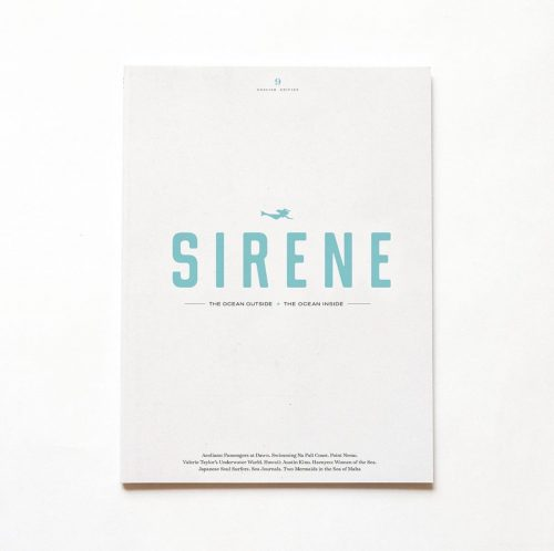 Sirene journal sea lovers algenpapier