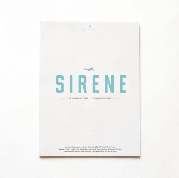 Sirene journal sea lovers algae paper