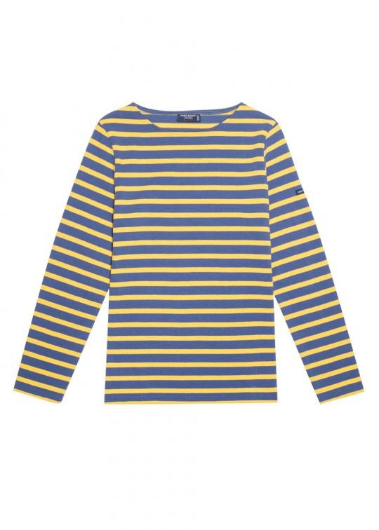 camiseta bretona azul amarillo