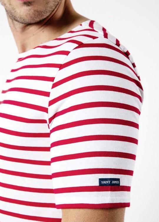 chemise de marin à manches courtes saint james