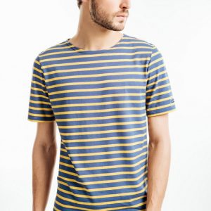 kurzärmeliges gestreiftes T-Shirt Saint-James