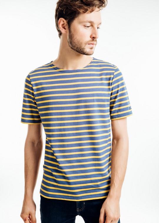camiseta manga corta rayas saint james