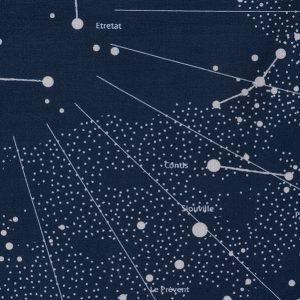 navigation dans le planisphère céleste