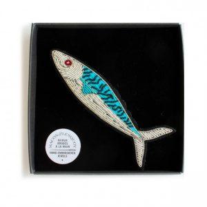 Meeresmakrelen-Geschenkbrosche