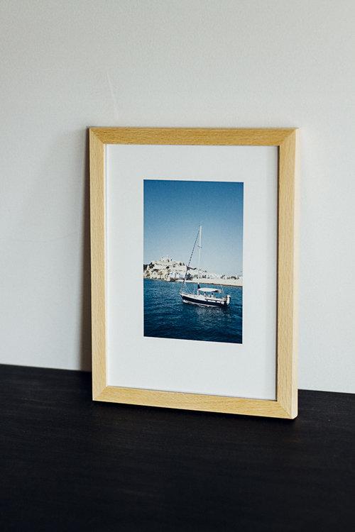 Photographie de voile à Ibiza