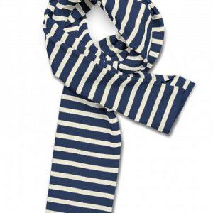 Bufanda de rayas marineras