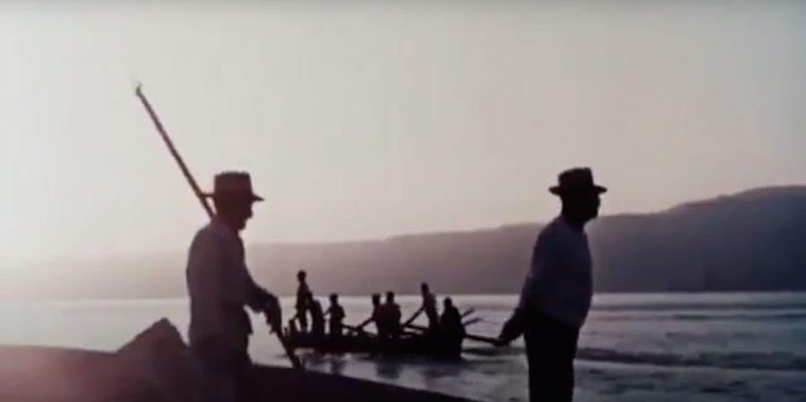 Fotograma del corto documental 'Lu Tempu Di Li Pisci Spata' de Vittorio De Setta.