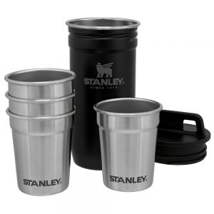 set vasos acero inoxidable