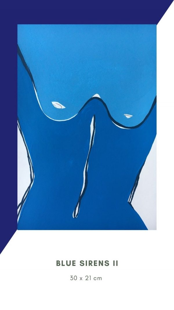 Sirene blue by Fede Pouso