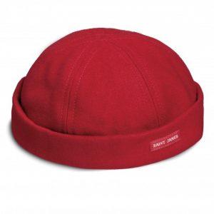chapeau de marin rouge saint james
