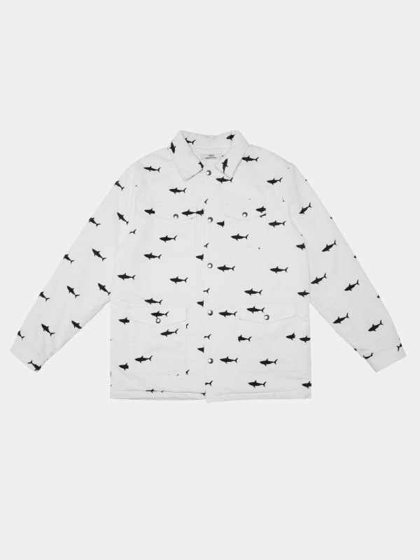 chaqueta de pana tiburones