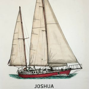 Joshua sailing boat ketch