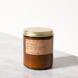 vela de higo cera de soja