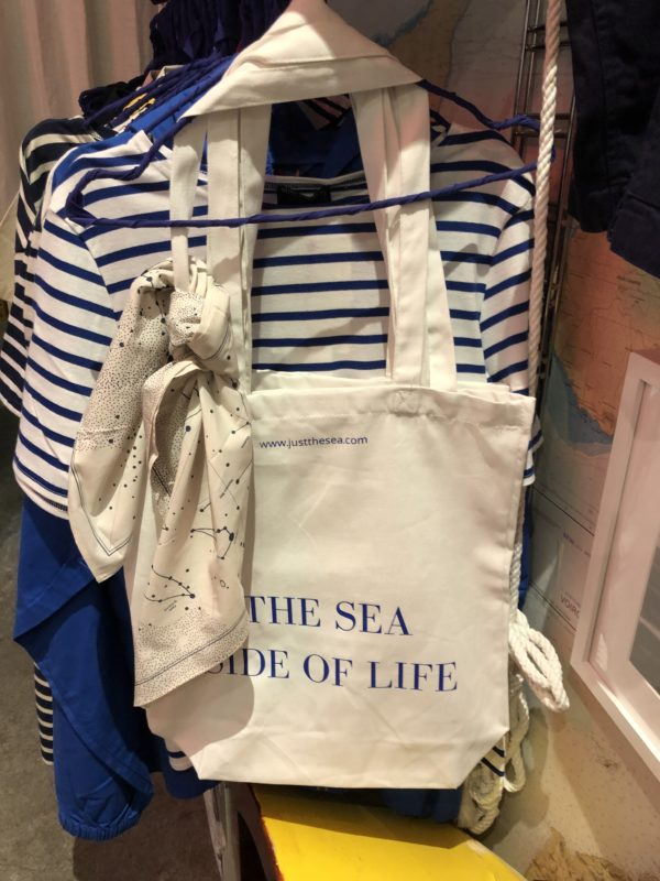 Just the Sea iconic tote bag