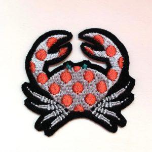 cangrejo puntos rojos
