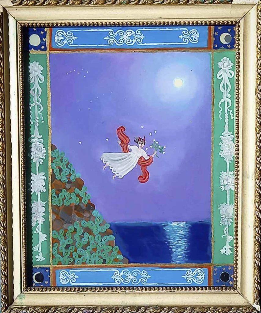 Roberto di Alicudi pintor de vidrio entrevistado para Just The Sea