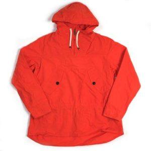 hooded smock orange