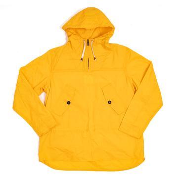 hooded smock yellow