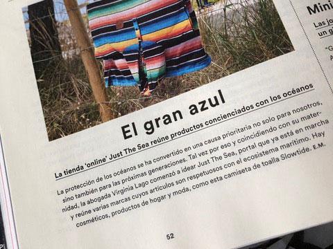 Reseña de Just The Sea en la revista ICON