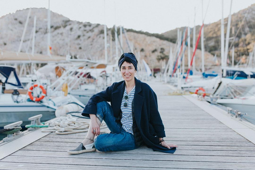 Ángela Lago creadora de Just The Sea